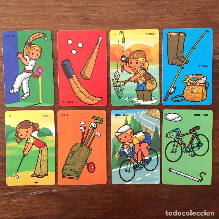Barajas de cartas: BARAJA INFANTIL FOURNIER - CONTAMOS CONTIGO - DEPORTES - 44 CARTAS -1974 - Foto 7 - 219222980