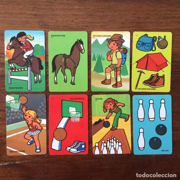 Barajas de cartas: BARAJA INFANTIL FOURNIER - CONTAMOS CONTIGO - DEPORTES - 44 CARTAS -1974 - Foto 9 - 219222980