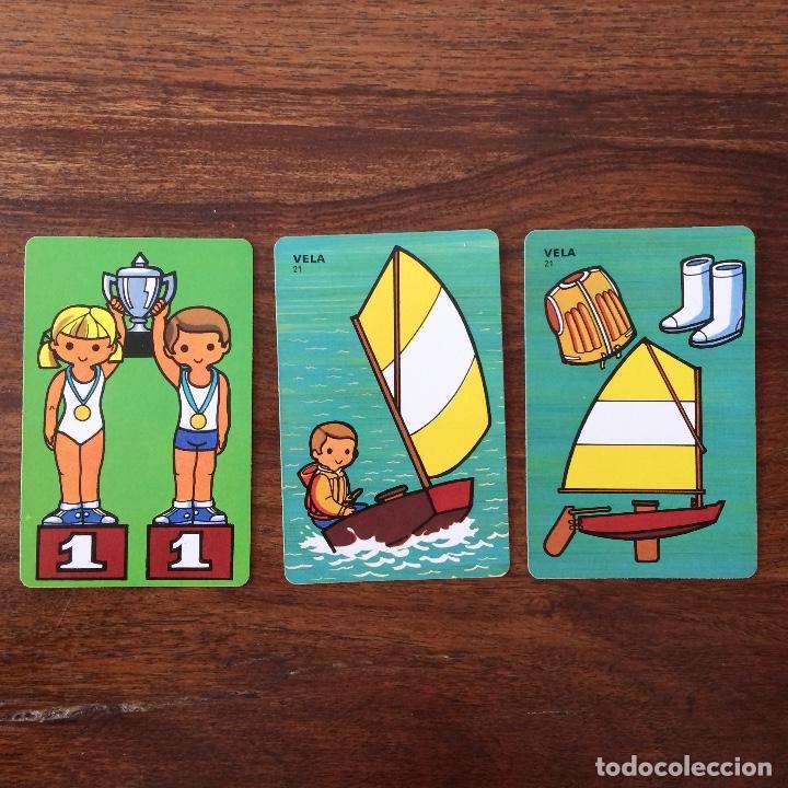 Barajas de cartas: BARAJA INFANTIL FOURNIER - CONTAMOS CONTIGO - DEPORTES - 44 CARTAS -1974 - Foto 10 - 219222980