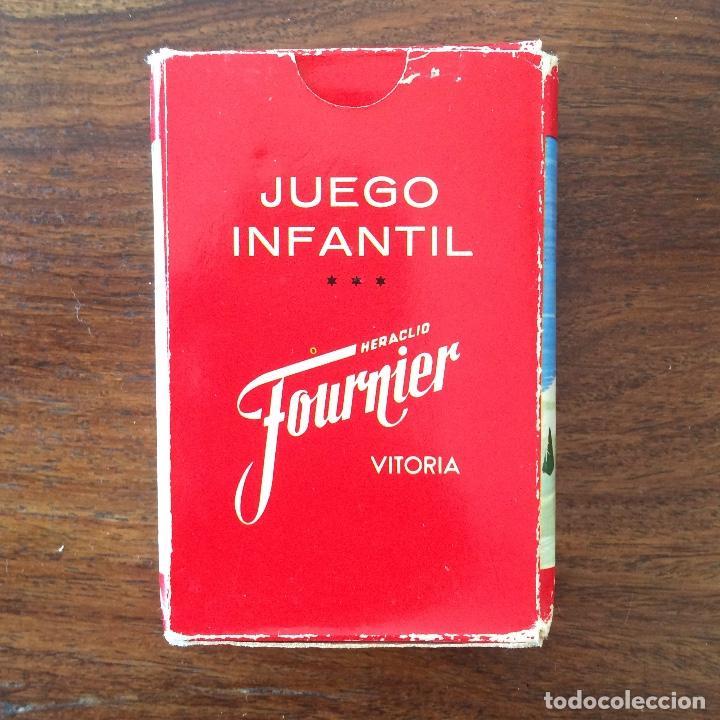 Barajas de cartas: BARAJA INFANTIL FOURNIER - CONTAMOS CONTIGO - DEPORTES - 44 CARTAS -1974 - Foto 11 - 219222980