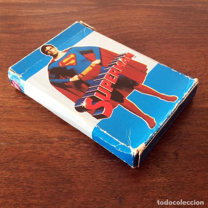 Barajas de cartas: BARAJA INFANTIL FOURNIER - SUPERMAN - 32 CARTAS - 1979 - Foto 3 - 219231951