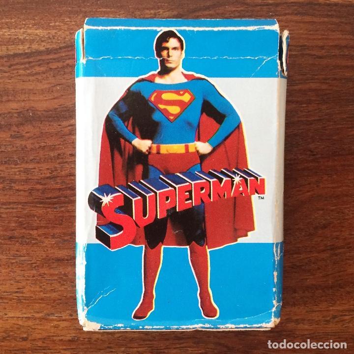 BARAJA INFANTIL FOURNIER - SUPERMAN - 32 CARTAS - 1979 (Juguetes y Juegos - Cartas y Naipes - Barajas Infantiles)