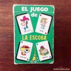 Barajas de cartas: BARAJA INFANTIL - LA ESCOBA - HANNA BARBERA - 40 CARTAS - 1973. Lote 219233035