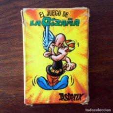Barajas de cartas: BARAJA INFANTIL - JUEGO DE LA CIZAÑA - ASTERIX - 40 CARTAS - 1975. Lote 219233270