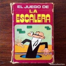 Barajas de cartas: BARAJA INFANTIL - JUEGO DE LA ESCALERA - MORTADELO Y FILEMÓN - 40 CARTAS. Lote 219233406