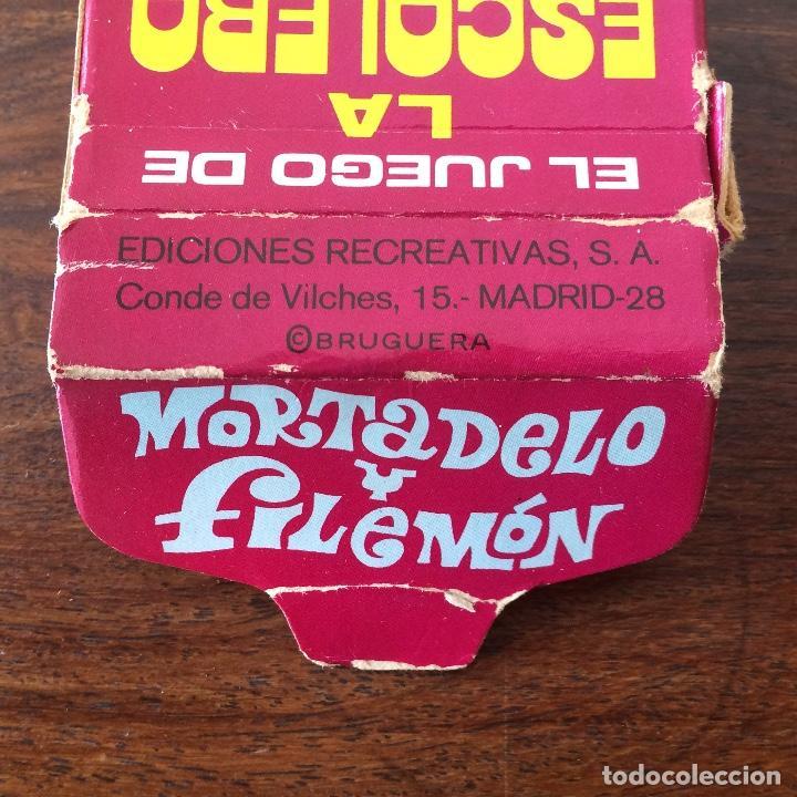 Barajas de cartas: BARAJA INFANTIL - JUEGO DE LA ESCALERA - MORTADELO Y FILEMÓN - 40 CARTAS - Foto 4 - 219233406