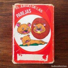 Barajas de cartas: BARAJA INFANTIL - JUEGO DE LAS PAREJAS - ANIMALES - 40 CARTAS. Lote 219233557