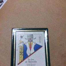Barajas de cartas: LE JEU DE MARSEILLE. NAIPES SURREALISTAS DISEÑO DE 1941 POR ARTISTAS REFUGIADOS EN MARSELLA. ED.1983. Lote 262620580