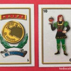 Barajas de cartas: MEX 82 NAIPE EL TORITO BARAJA ESPAÑOLA AÑOS 90 MÉXICO 40 CARTAS. Lote 219301347