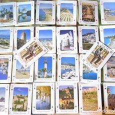 Barajas de cartas: BARAJA DE CARTAS PÓKER. MÁLAGA COSTA DEL SOL. CADA NAIPE UNA FOTO. NERJA MARBELLA RONDA MIJAS. 90GR. Lote 219342227
