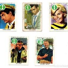 Barajas de cartas: ASES Y ESTRELLAS VERDE (FHER 1969) 5 CROMOS, SE VENDEN SUELTOS, CONSULTAR PRECIOS.. Lote 167241720