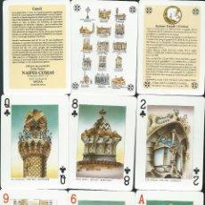Barajas de cartas: BARAJA ESPECIAL POKER DE GAUDI-AÑO 2000. Lote 219551907