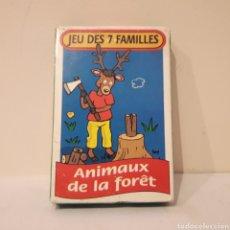 Mazzi di carte: JUEGO DE 7 FAMILIAS. FRANCÉS. Lote 219610113