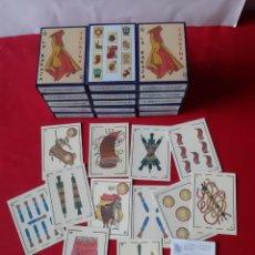 Barajas de cartas: LA BARAJA TAURINA LOTE DE 15 BARAJAS NUEVAS SIN ESTRENAR DISEÑO DORA AÑO 1999. Lote 219640608