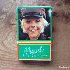 Barajas de cartas: BARAJA FOURNIER JUEGO INFANTIL - MIGUEL EL TRAVIESO - VER FOTOS. Lote 219690148