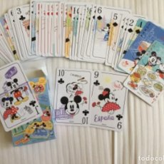 Jeux de cartes: BARAJA MICKEY MOUSE HAPPY TRIP. Lote 220065783
