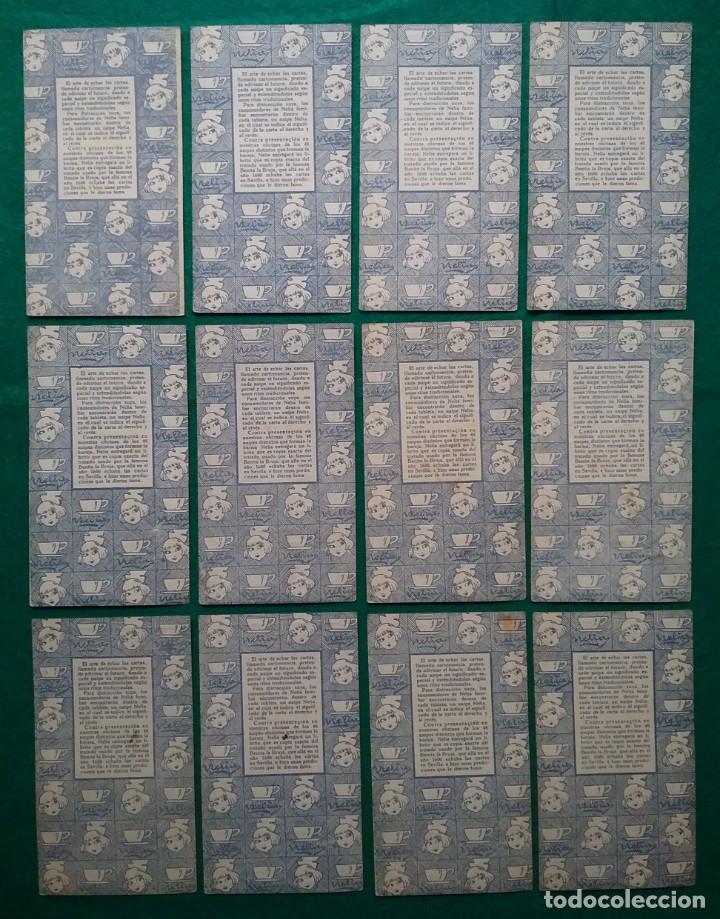 Barajas de cartas: TAROT CARTOMANCIA NAIPES JUEGO DE CARTAS BENITA LA BRUJA PUBLICIDAD CHOCOLATE NELIA CIRCA 1920 - Foto 9 - 220236242