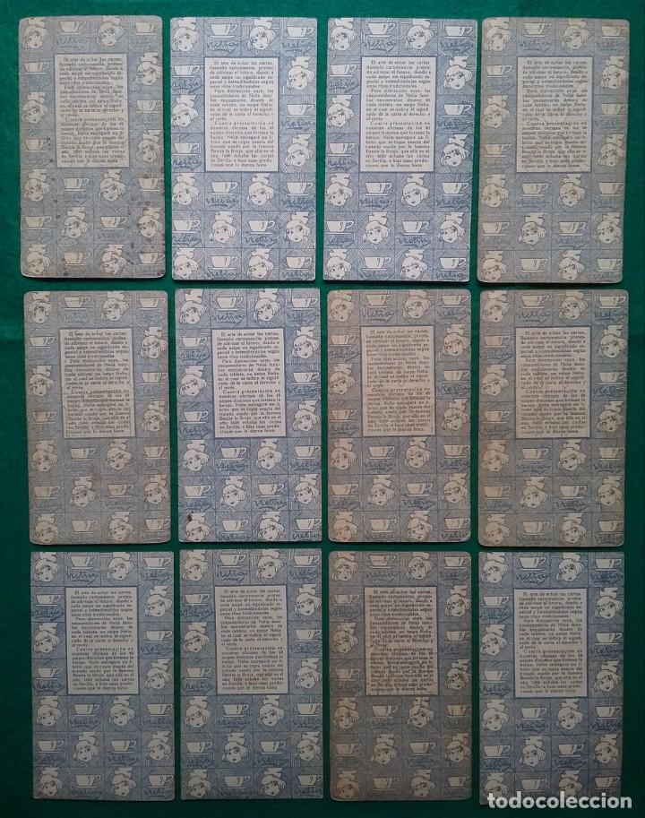 Barajas de cartas: TAROT CARTOMANCIA NAIPES JUEGO DE CARTAS BENITA LA BRUJA PUBLICIDAD CHOCOLATE NELIA CIRCA 1920 - Foto 11 - 220236242