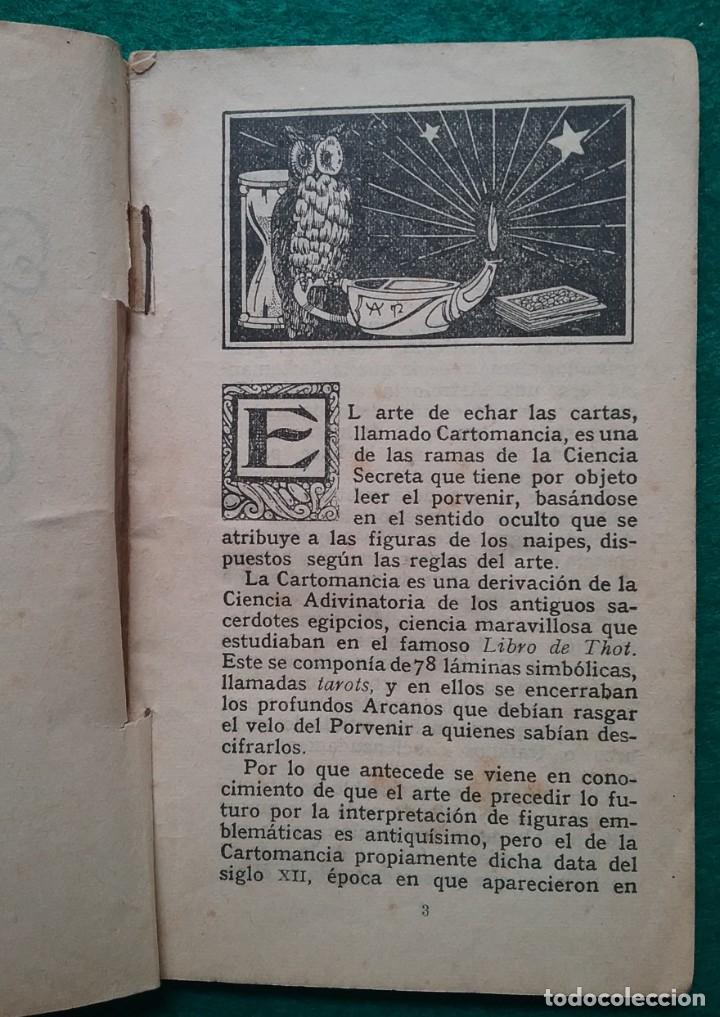 Barajas de cartas: TAROT CARTOMANCIA NAIPES JUEGO DE CARTAS BENITA LA BRUJA PUBLICIDAD CHOCOLATE NELIA CIRCA 1920 - Foto 18 - 220236242