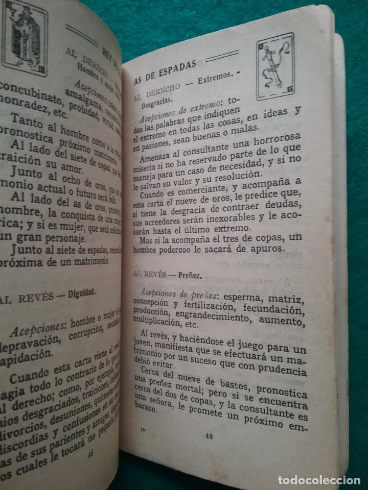 Barajas de cartas: TAROT CARTOMANCIA NAIPES JUEGO DE CARTAS BENITA LA BRUJA PUBLICIDAD CHOCOLATE NELIA CIRCA 1920 - Foto 20 - 220236242