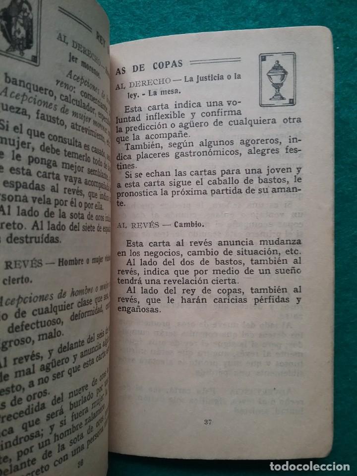 Barajas de cartas: TAROT CARTOMANCIA NAIPES JUEGO DE CARTAS BENITA LA BRUJA PUBLICIDAD CHOCOLATE NELIA CIRCA 1920 - Foto 21 - 220236242