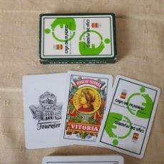 Barajas de cartas: BARAJA ESPAÑOLA DE CARTAS PUBLICIDAD CAJA MADRID. Lote 220358108