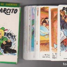 Jeux de cartes: JUEGO INFANTIL PULGARCITO. NAIPES HERACLIO FOURNIER 1981. 32 CARTAS. Lote 220475647