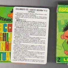 Baralhos de cartas: BARAJA DE NAIPES. ÁBRETE SÉSAMO. LETRAS 2. HERACLIO FOURNIER 1976. Lote 220475708