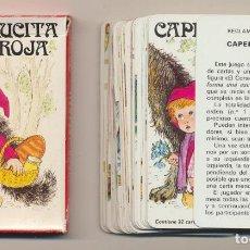 Jeux de cartes: BARAJA CAPERUCITA ROJA. 32 CARTAS. HERACLIO FOURNIER 1981. Lote 220475951