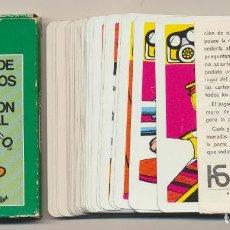 Barajas de cartas: BARAJA EL JUEGO DE LOS EQUIPOS DE PROTECCIÓN PERSONAL. 40 CARTAS (FALTAN 2 CARTAS) . FOURNIER 1977. Lote 254800915