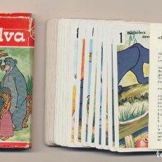 Jeux de cartes: BARAJA EL LIBRO DE LA SELVA. 40 CARTAS. HERACLIO FOURNIER 1968. Lote 220475968