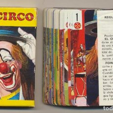 Baralhos de cartas: BARAJA EL CIRCO. 44 CARTAS. HERACLIO FOURNIER 1970. Lote 220475978
