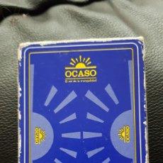 Barajas de cartas: BARAJA OCASO FOURNIER. Lote 220508318