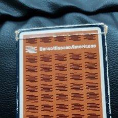 Jeux de cartes: BARAJA BANCO HISPANO AMERICANO FOURNIER. Lote 220509012