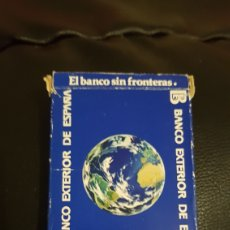 Barajas de cartas: BARAJA BANCO EXTERIOR DE ESPAÑA FOURNIER. Lote 220521448