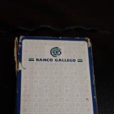 Barajas de cartas: BARAJA BANCO GALLEGO FOURNIER. Lote 220523138