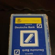 Barajas de cartas: BARAJA CORREOS DEUTSCHE BANK FOURNIER. Lote 220533830