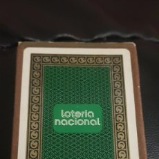 Barajas de cartas: BARAJA LOTERIA NACIONAL. Lote 220534997
