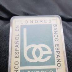 Barajas de cartas: BARAJA BANCO ESPAÑOL EN LONDRES FOURNIER. Lote 220546582