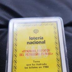 Barajas de cartas: BARAJA LOTERIA NACIONAL FOURNIER. Lote 220546730