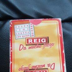 Barajas de cartas: BARAJA REIG FOURNIER. Lote 220547065