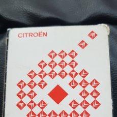 Barajas de cartas: BARAJA CITROEN FOURNIER. Lote 220547287