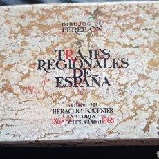 Jeux de cartes: BARAJA TRAJES REGIONALES DE ESPAÑA FOURNIER. Lote 220556020