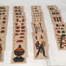 Barajas de cartas: BARAJA LOS DOS CIERVOS PREMIO AL MERITO FABRICA NAIPES FINOS CADIZ 1881-1893. Lote 220671628