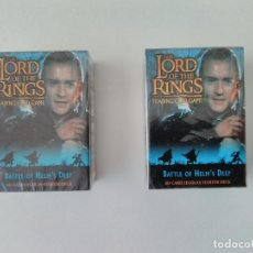 Jeux de cartes: LOTE 2 MAZOS - LORD OF THE RINGS, 60 CARDS LEGOLAS - DECIPHER - AÑO 2002, EN INGLÉS - ERICTOYS. Lote 220755200