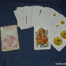 Barajas de cartas: ANTIGUA BARAJA TIPO ESPAÑOLDE 48 CARTAS DIBUJADA POR APELES MESTRES LITOGRAFIADA POR B.BONDORF,FRANK. Lote 220859577