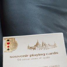 Barajas de cartas: BARAJA TURISTICA VISTAS DE ESPAÑA FOURNIER. Lote 220874908