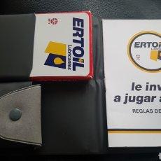 Barajas de cartas: BARAJA DE MUS ERTOIL LUBRICANTES FOURNIER. Lote 220875042
