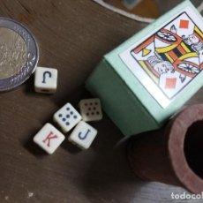 Jeux de cartes: JUEGOS DE DADOS PEQUEÑOS. Lote 220956763
