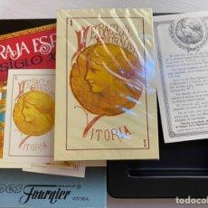 Barajas de cartas: BARAJA FOURNIER BARAJA ESPAÑOLA SIGLO XIX NUEVA, PRECINTADA. Lote 220958087